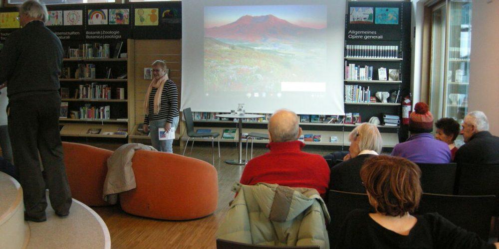 "Dobbiaco/Toblach (BZ), 15 febbraio 2019 – Biblioteca ""Hans Glauber"""