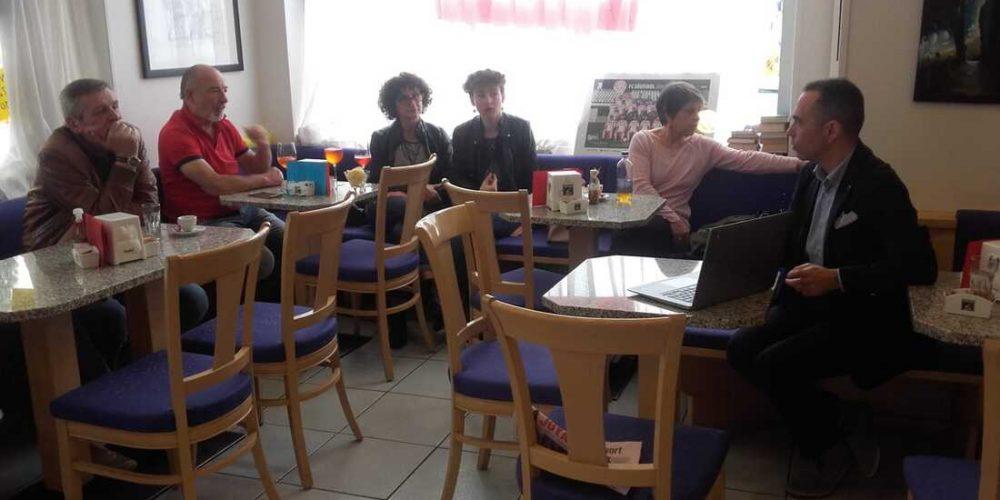 """Caffè letterario """"Lettera 7"""" – Laives (BZ) 25 maggio 2019"""